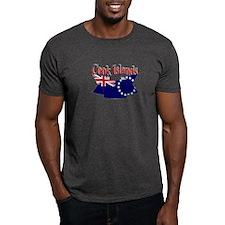Cook Island flag ribbon T-Shirt