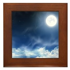 Night Sky Framed Tile