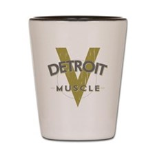 Detroit Muscle copy Shot Glass
