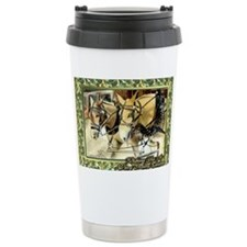 Mule Christmas Travel Mug