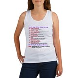 There is no global warming Women's Tank Top