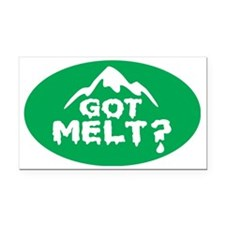 Got Melt Rectangle Car Magnet