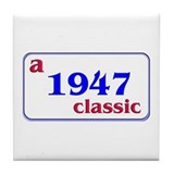 1947 Tile Coaster