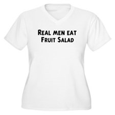 Men eat Fruit Salad T-Shirt