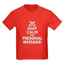 Personalized Keep Calm and Scuba Dive T