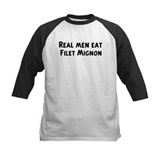 Men eat Filet Mignon Tee