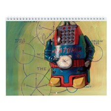 Funny Atoms Wall Calendar