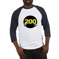 Bench Press 200 lbs Baseball Jersey