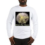 Wish For Peace Dandelion Long Sleeve T-Shirt
