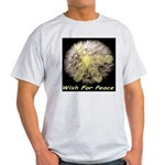 Wish For Peace Dandelion Light T-Shirt