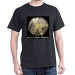 Wish For Peace Dandelion Dark T-Shirt