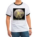 Wish For Peace Dandelion Ringer T
