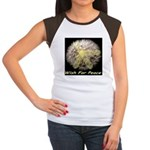 Wish For Peace Dandelion Women's Cap Sleeve T-Shir