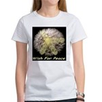Wish For Peace Dandelion Women's T-Shirt