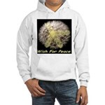 Wish For Peace Dandelion Hooded Sweatshirt
