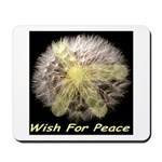 Wish For Peace Dandelion Mousepad