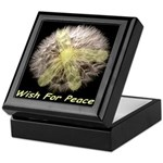 Wish For Peace Dandelion Keepsake Box