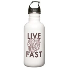 live fast copy Water Bottle