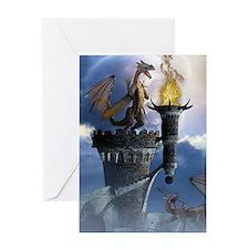 Dragon Land 2 Greeting Card