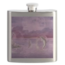 Dream Of Dolphins Flask