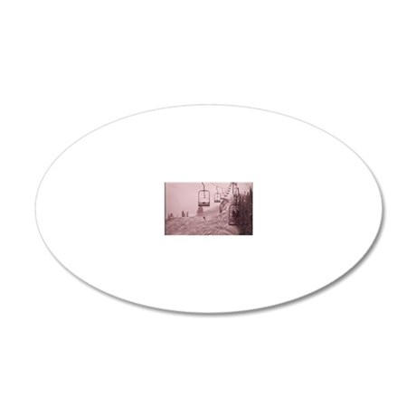 ALL_THE_LIFTS_AT_ASPEN_ARE_C 20x12 Oval Wall Decal