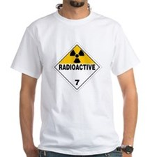 Radioactive Warning Sign Shirt