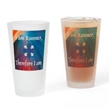 iamrunner1 Drinking Glass