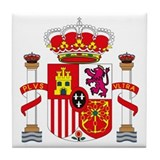 Spainish Coat of Arms Tile Coaster