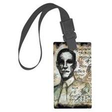 H.P. Lovecraft  Luggage Tag