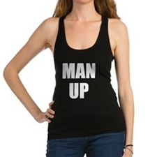 MAN UP Racerback Tank Top