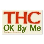 THC OK By Me (bumper sticker)