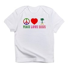 Peace Love Saudi Arabia Infant T-Shirt