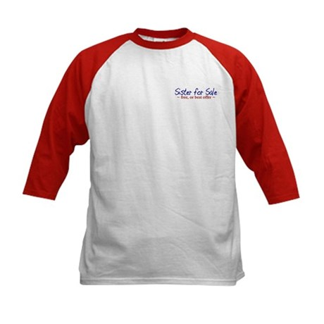 Sister for Sale Kids Baseball Jersey