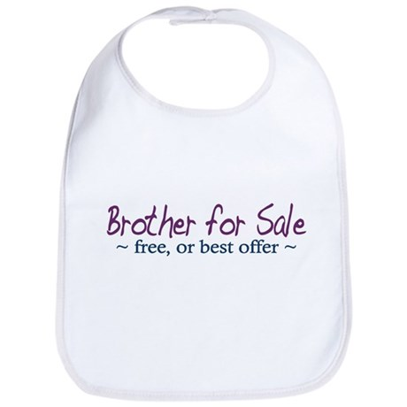 Brother for Sale Bib