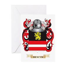 Dewitt Coat of Arms Greeting Card