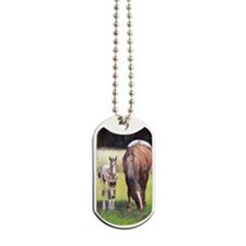 Appaloosa Mare  Foal Portrait Dog Tags