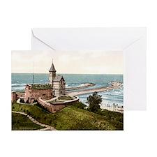Kolobrzeg_latarnia_1890-1905r Greeting Card