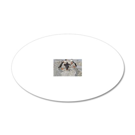 ornament 8 20x12 Oval Wall Decal