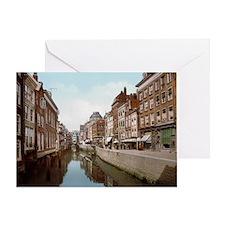 Rotterdam_-_Het_Steiger_1900 Greeting Card