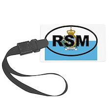 San Marino RSM Luggage Tag
