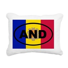 Andorra AND Rectangular Canvas Pillow