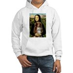 MonaLisa-AussieShep #4 Hooded Sweatshirt