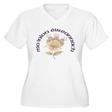 My Irish Daughter Plus Size V-Neck T-Shirt