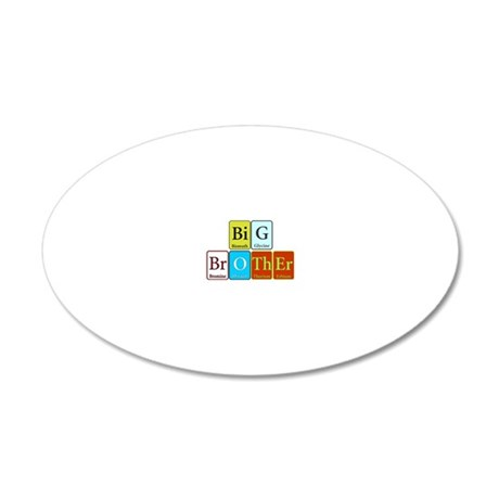 Big Brother 20x12 Oval Wall Decal