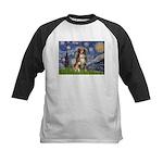 Starry-Aussie Shep #4 Kids Baseball Jersey