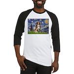 Starry-Aussie Shep #4 Baseball Jersey