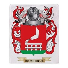 Dominique Coat of Arms Throw Blanket