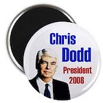 Chris Dodd for President 2008 Magnet
