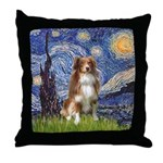 Starry-Aussie Shep #4 Throw Pillow