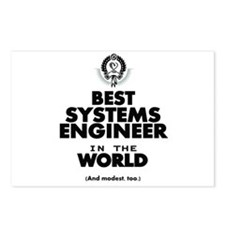 Best 2 Systems Engineer copy Postcards (Package of